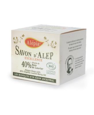 Joudy Cosmétique Naturel Et Bio Savon d'Alep BIO 40% laurier