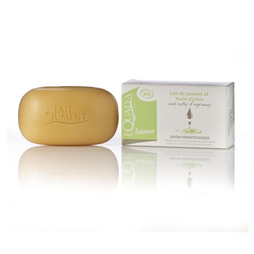 Equalya Cosmetics Lait De Jument Bio Savon dermatologique lait de jument et huile d'olive 100g