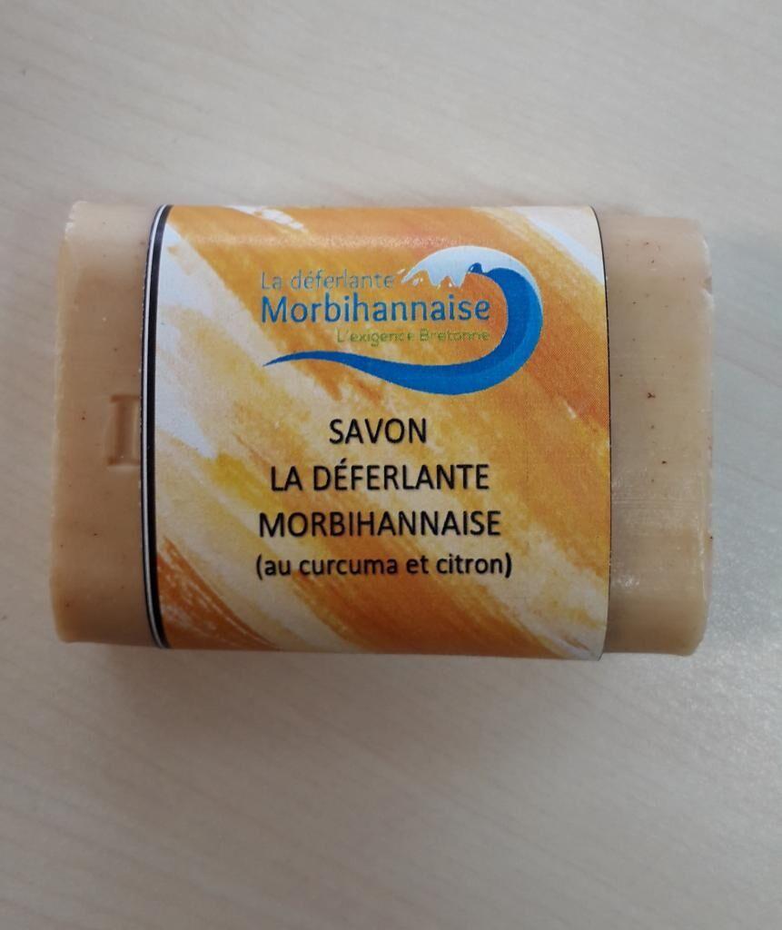 Les Essentiels D'isabelle Savon La déferlante Curcuma Citron 100g