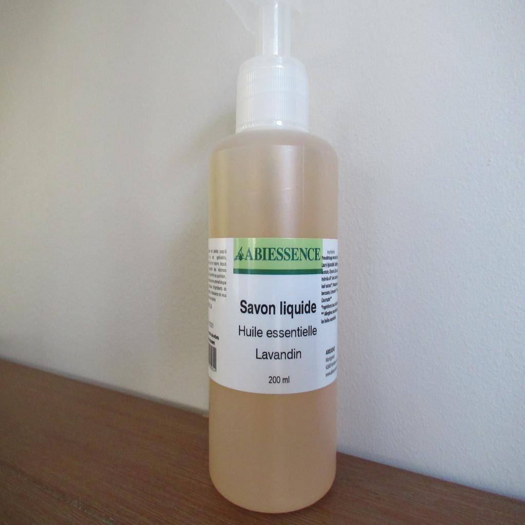 Arom'nature Conseil Savon liquide lavandin 200ml