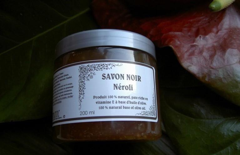 Les Essentiels D'isabelle SAvon Noir Parfum Néroli 200ml
