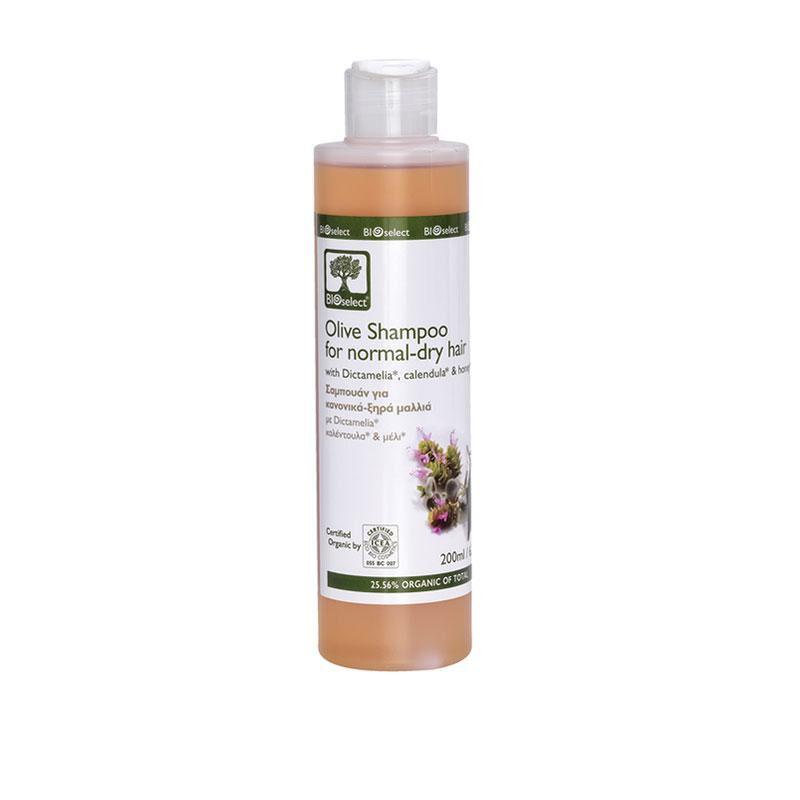 Bioselect France - Aromes De Crete Shampoing hydratant pour cheveux normaux ou secs