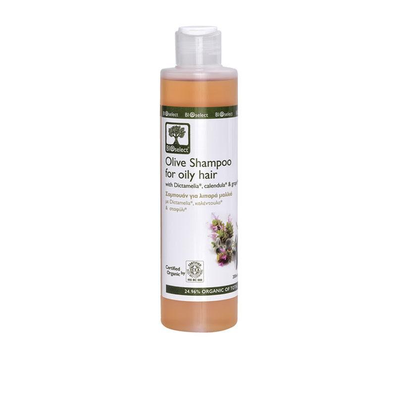 SALVIA Shampoing BIO naturel traitant pour cheveux gras - 200ml