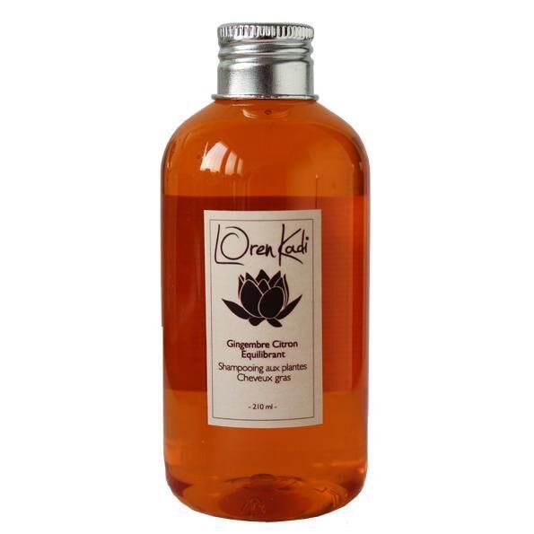 Breiz Henné Shampoing Gingembre-Citron Loren Kadi Equilibrant Cheveux gras
