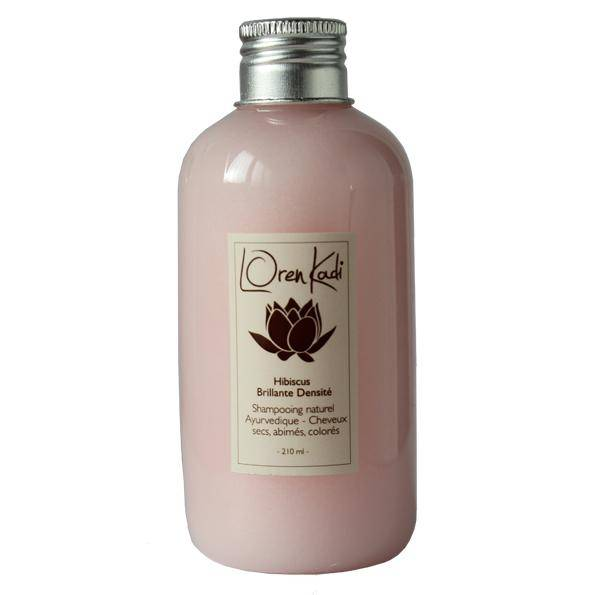 Breiz Henné Shampoing Hibiscus Loren Kadi Cheveux secs abimés colorés