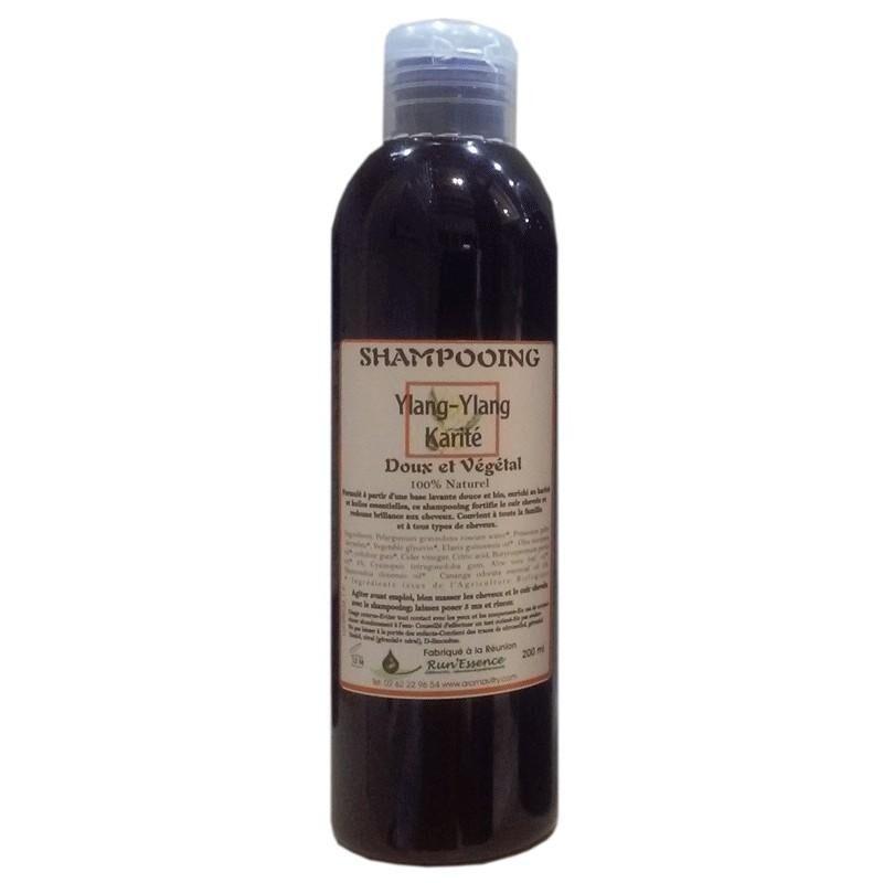 Synergies Distributeur Run'essence Shampoing doux et végétal ylang-ylang et karité 100% naturel...