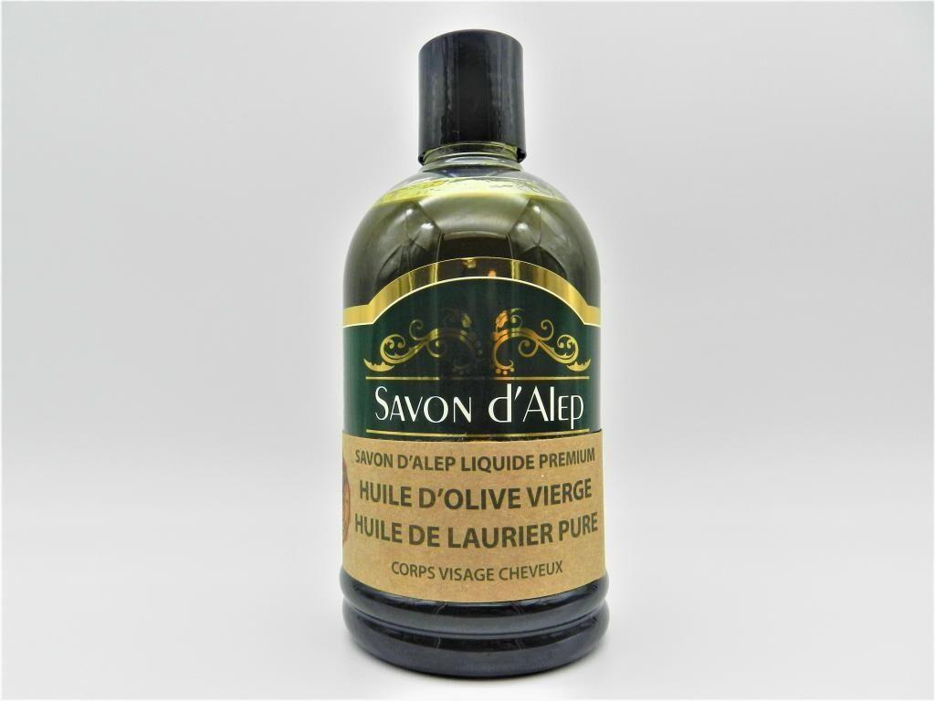 Shefaa Natural Soap Savon d'Alep Liquide Premium à l'Huile d'Olive Vierge & à...