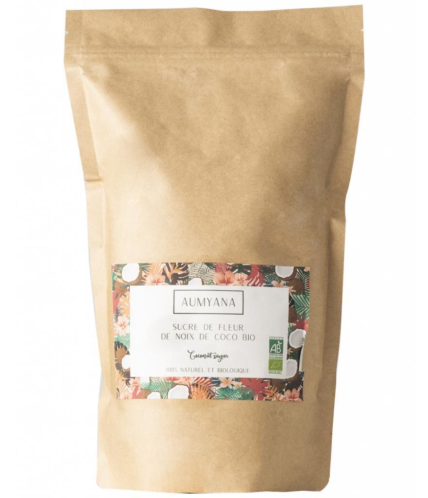 Aumyana- Marque Française Sucre de fleur de coco bio 1 kg
