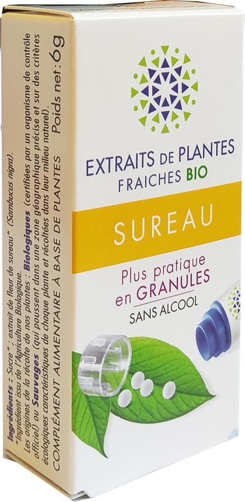 Kosmeo SUREAU Teinture Mère  d'extaits de plantes fraiches granules ...