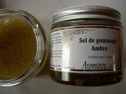 Les Essentiels D'isabelle Sel de gommage ambre et épice pot de 125ml