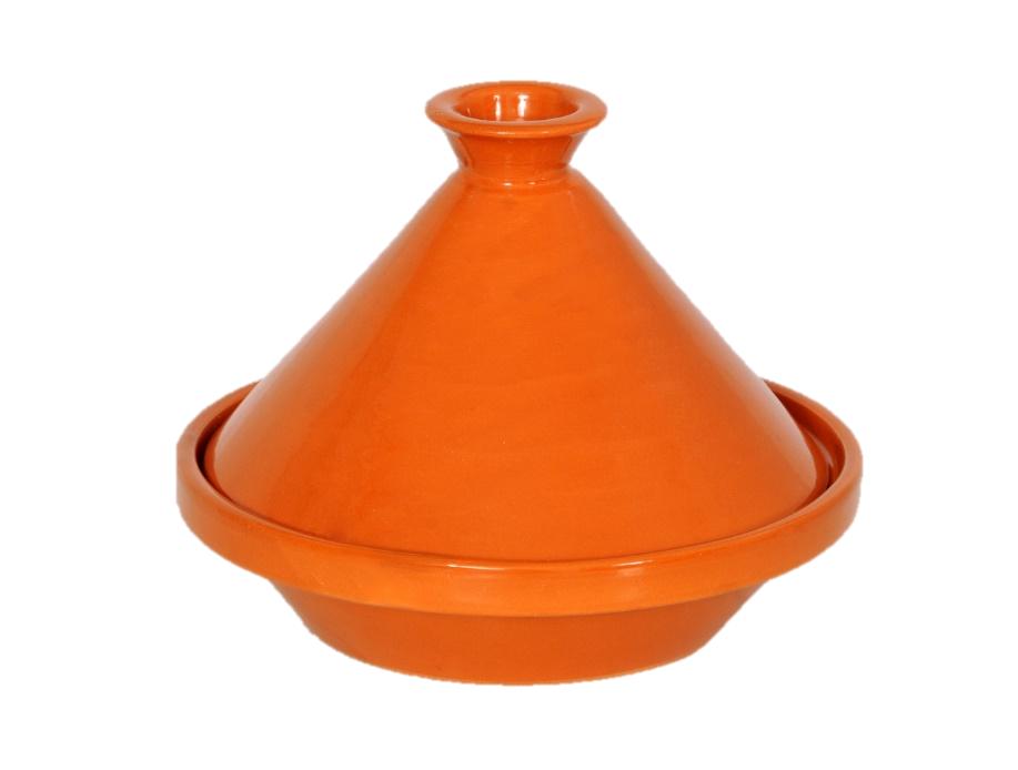 Comptoir D'ailleurs Tajine marocain 20 cm avec couvercle en céramique