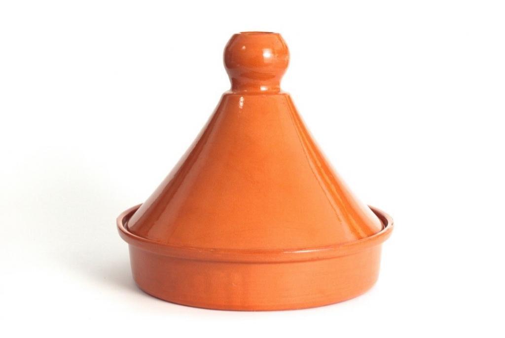 Comptoir D'ailleurs Tajine marocain 25 cm avec couvercle en céramique
