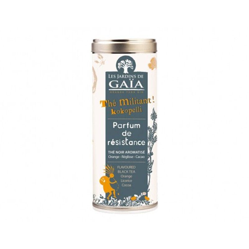 JARDINS DE GAÏA Thé Noir Parfum de Résistance Bio - 100g- Les jardins de Gaïa