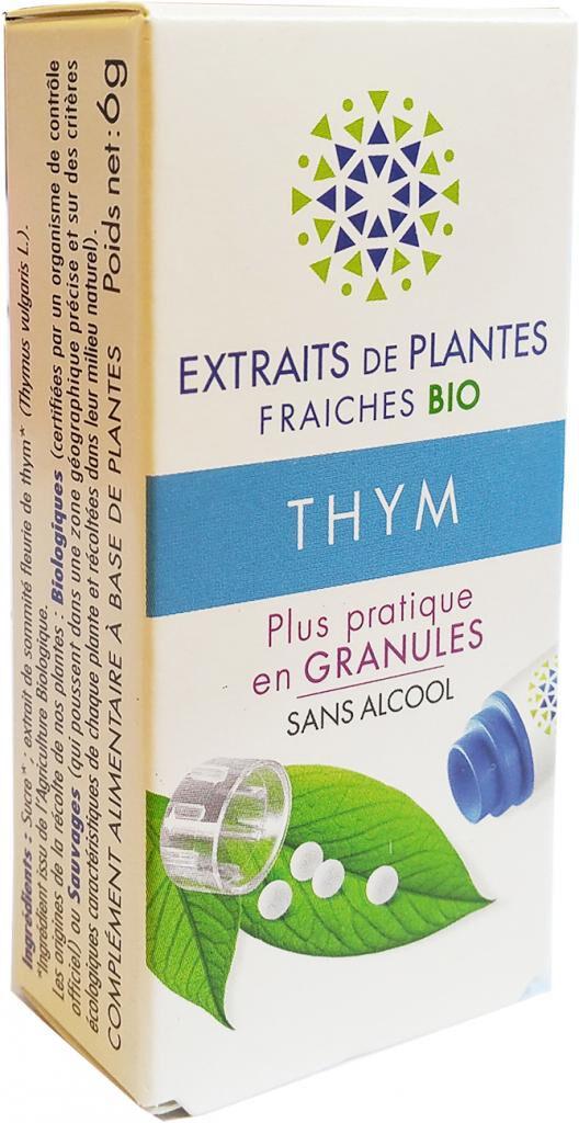 Kosmeo THYM Teinture Mère  d'extaits de plantes fraiches granules  Sans...