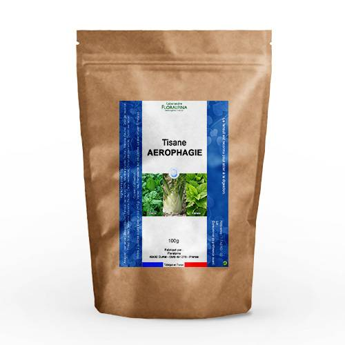 Rue Des Plantes Tisane Aérophagie 100g - mélange de plantes dont le basilic qui...