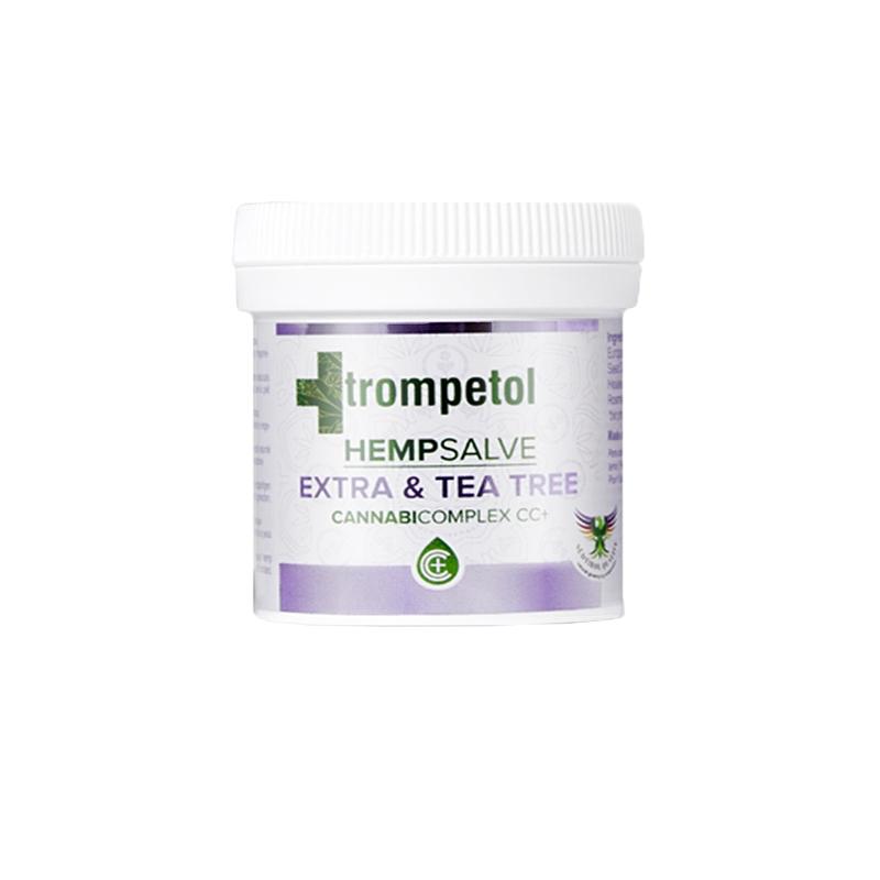 Au P'tit Bonheur Le Chanvre Trompetol HempSalve Extra & Tea Tree - 100ml