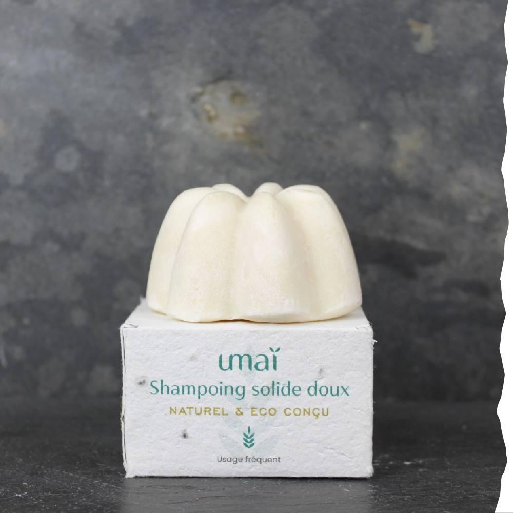 Silex, Beau/brut/naturel Shampoing solide doux - Umaï - 100g