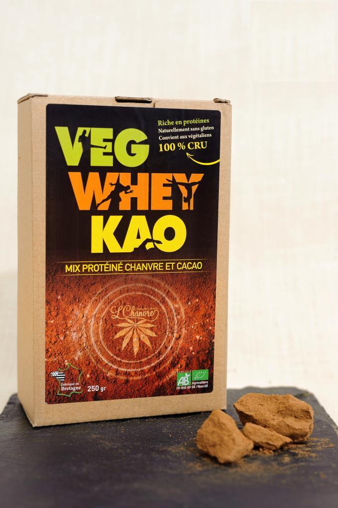 L'chanvre Veg'Whey Kao