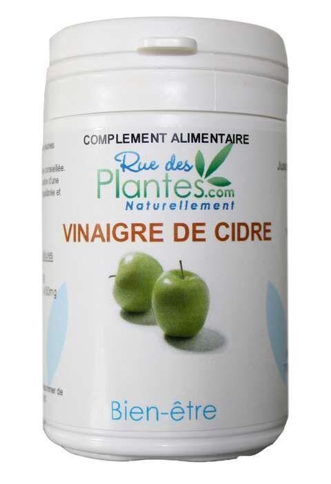 Rue Des Plantes Vinaigre de cidre de pomme 120 gélules à 375mg