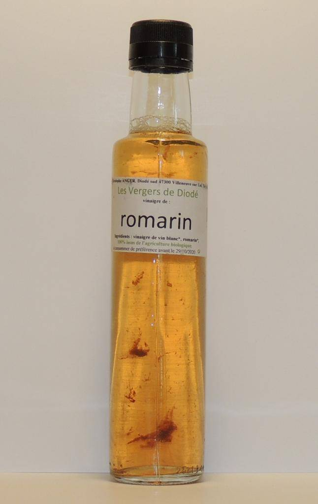 Les Vergers De Diodé vinaigre de vin blanc au romarin