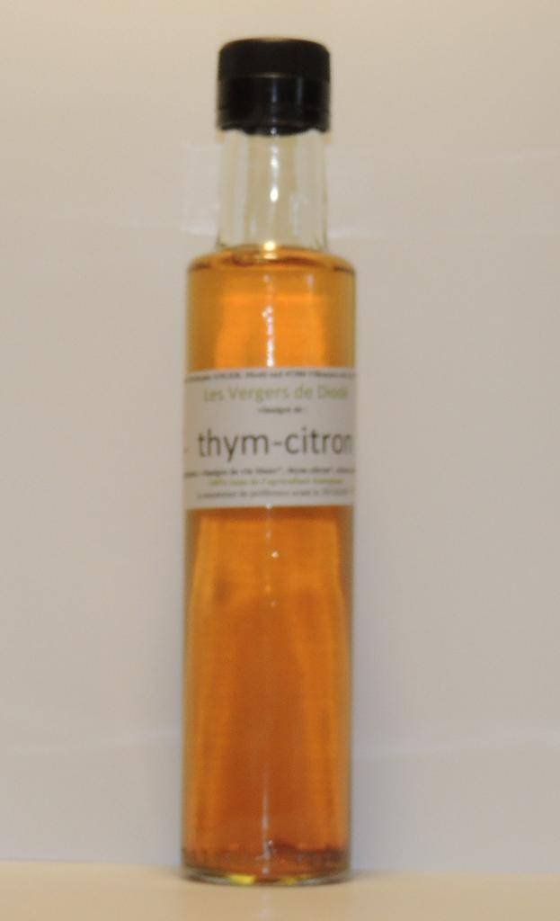 Les Vergers De Diodé vinaigre de vin blanc thym-citron