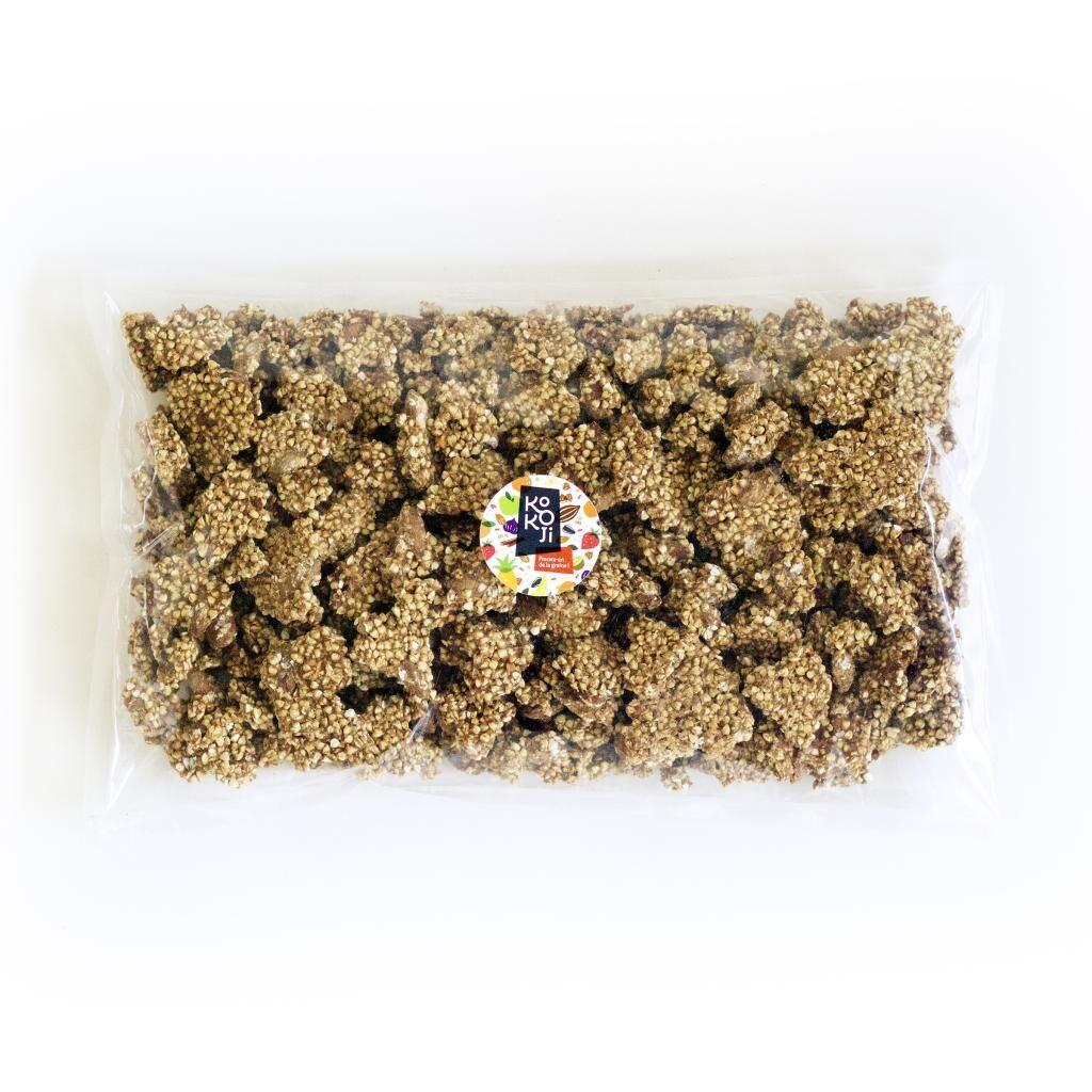 Kokoji Muesli croustillant (Granola) Bio Pomme Cannelle 1kg - sans gluten...