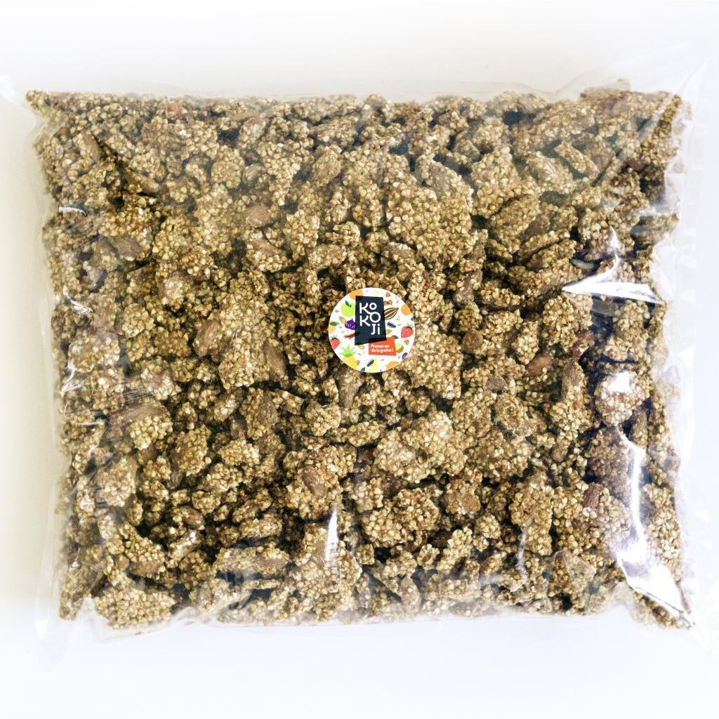 Kokoji Muesli croustillant Pomme Cannelle (granola) - sans gluten - sac...