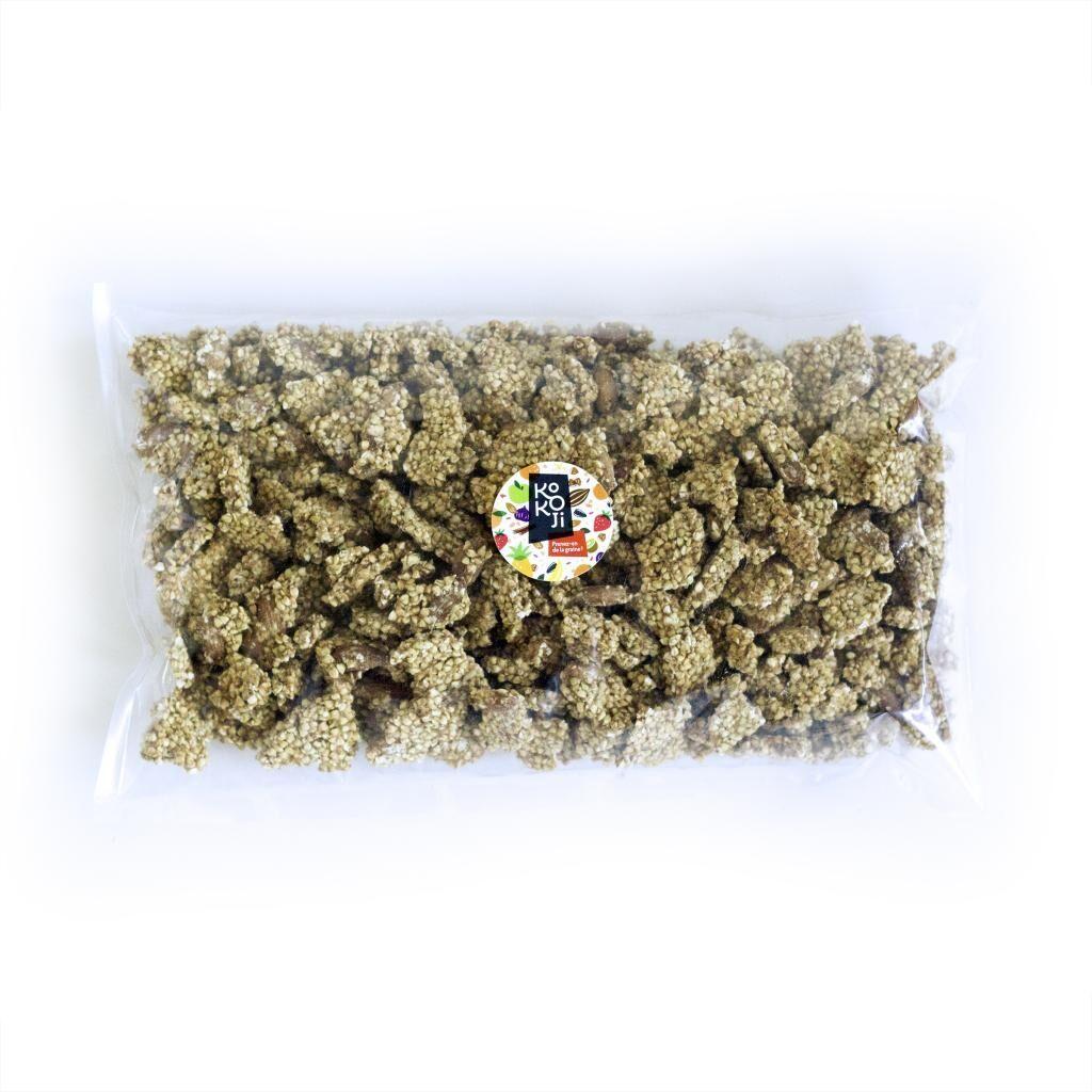 Kokoji Muesli croustillant Yellow Detox (granola) - Vrac 1 kg - sans gluten