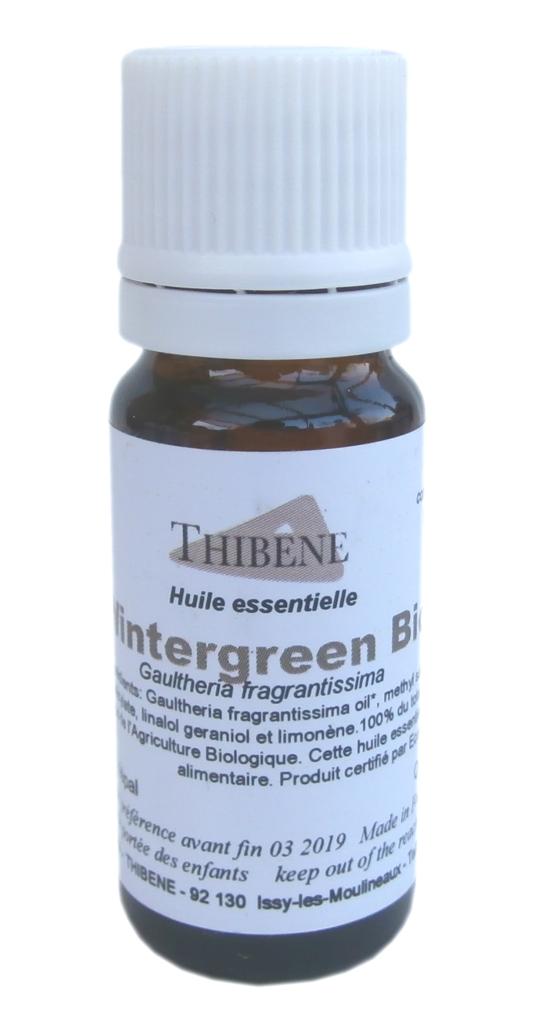 Les Essentiels D'isabelle Huile Essentielle de Gaulthérie Wintergreen Bio 10ml