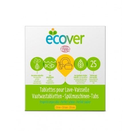 ECOVER Tablettes pour Lave-Vaisselle Citron - 500g - Ecover
