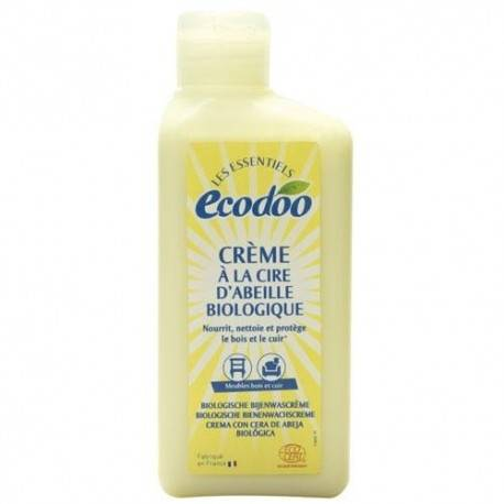 ECODOO Crème à la Cire d'abeille Bio - 250 ml - Ecodoo