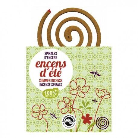 ENCENS DU MONDE - Spirales Encens d'été anti-moustiques - 10...
