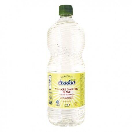 ECODOO Vinaigre d'Alcool Blanc Senteur Framboise - 1L - Ecodoo
