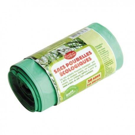 Relais Bio Sacs Poubelles Ecologiques - 30 Sacs - 30L - La Droguerie Ecologique