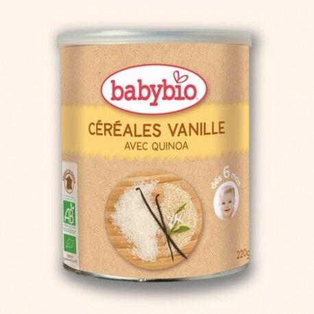 BABYBIO Céréales Vanille avec Quinoa 220g-Babybio
