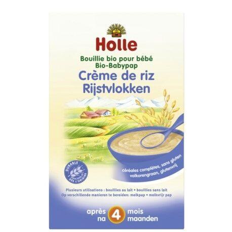 Relais Bio Bouillie Bio pour Bébé Crème de Riz 250g-Holle