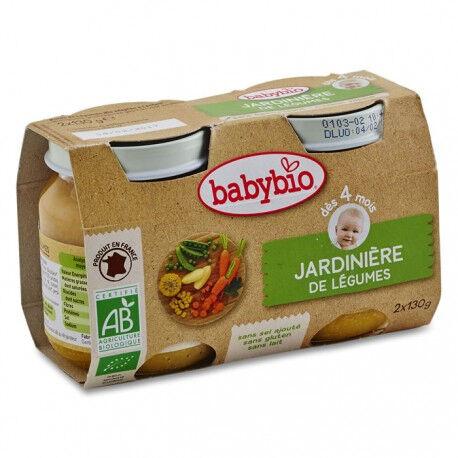 BABYBIO Jardinière de Légumes - 2 x 130g - Babybio