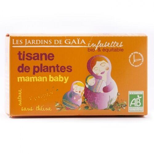 JARDINS DE GAÏA Tisane maman baby bio