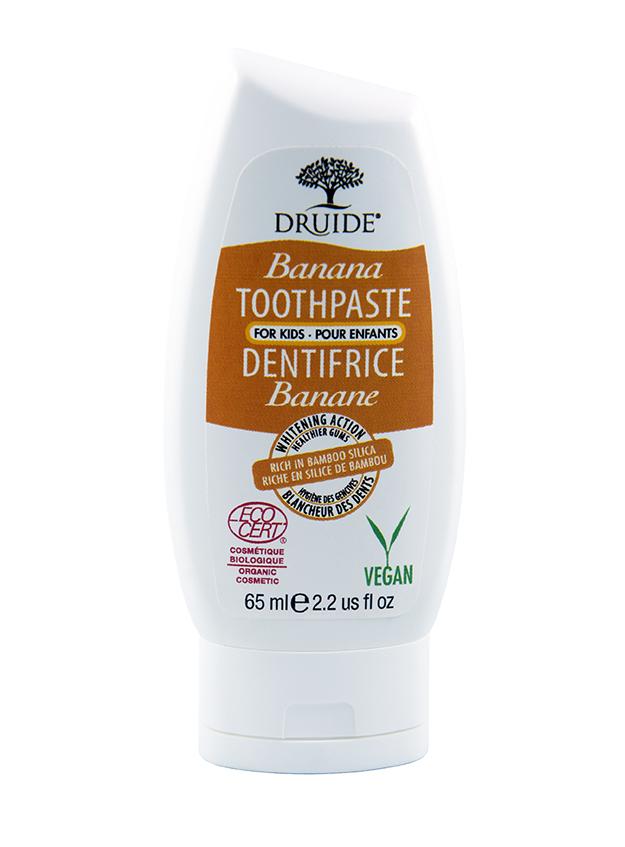 Druide Bio DRUIDE - Dentifrice Banane - Bébé/Enfant - 120 ml