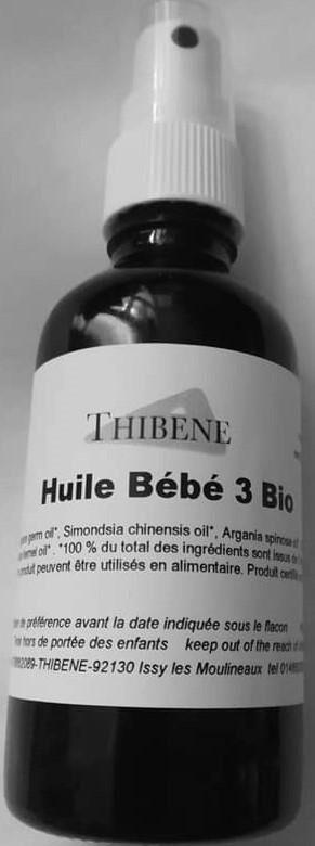 """Les Essentiels D'isabelle Huile de massage pour Bébé 3 """"douceur""""  50ML"""