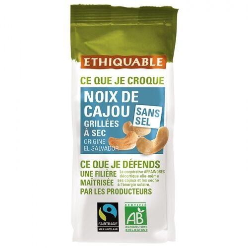 ETHIQUABLE PROMO DÉCOUVERTE - Noix de Cajou Grillées à Sec SANS...