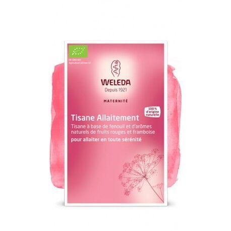 WELEDA Tisane Allaitement Fenouil Fruits rouges - 20 sachets - WELEDA