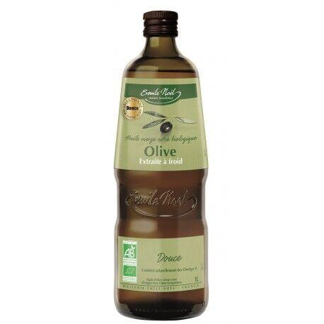 Relais Bio Huile d'Olive Vierge Extra Douce Bio Emile Noel 1L