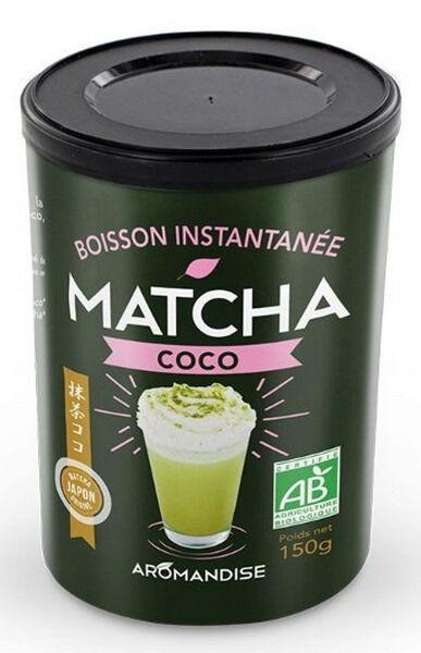 AROMANDISE Boisson instantanée Matcha coco, 150 g