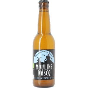 MOULINS D'ASCQ Bière Blanche - 33cl - Moulins d'Ascq