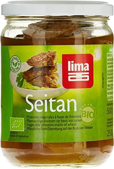 Les Délices De Sarah Seitan bocal (protéine de blé) 250g LIMA