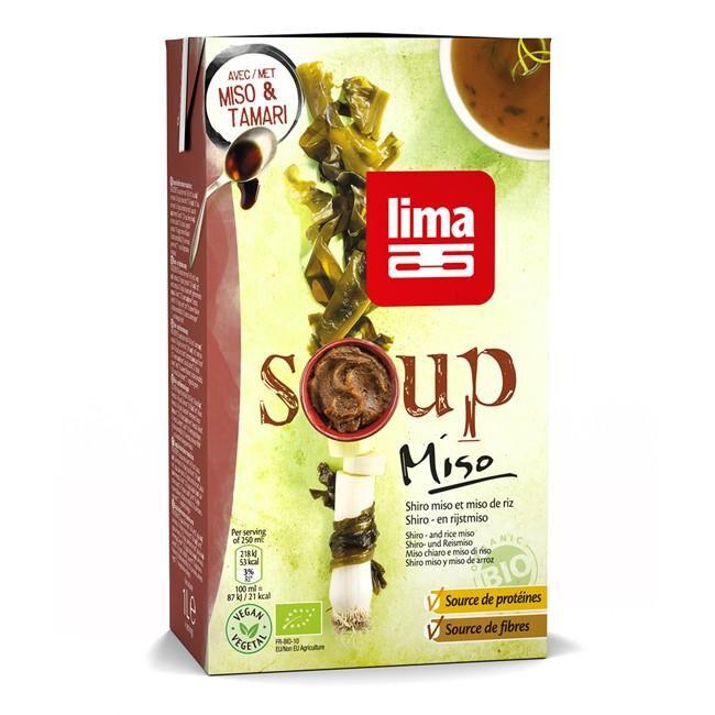 Les Délices De Sarah Soup'miso 1l LIMA