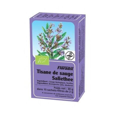 FLORADIX Tisane Sauge - 15 Infusettes - Floradix