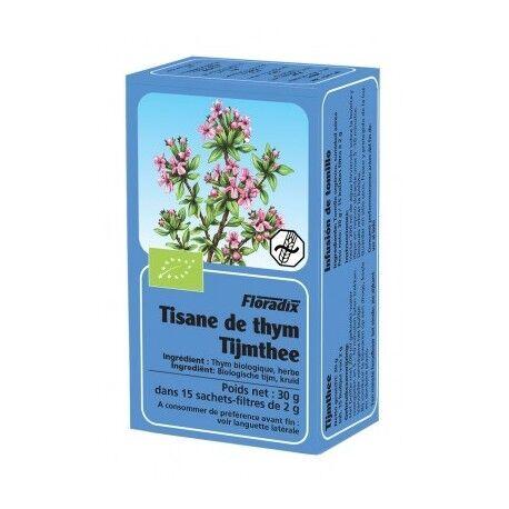 FLORADIX Tisane Thym - 15 Infusettes - Floradix