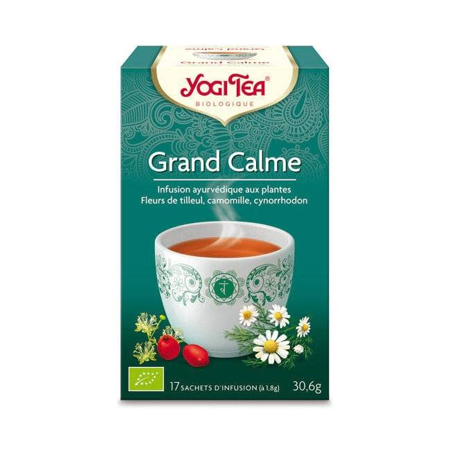 YOGI TEA - Yogi Tea Grand Calme Relax bio 17 sachets